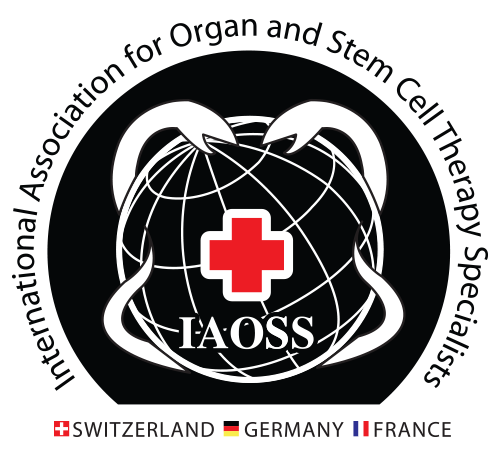 International Association of Organ & Stem Cell Therapy Specialists – Switzerland |  Germany |  France Logo